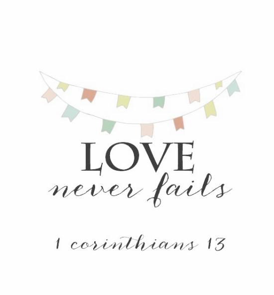 love_never_fails